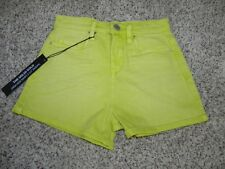 Blank NYC Jean Shorts Size 24 The Solid Gold High Rise Short  NWT $78