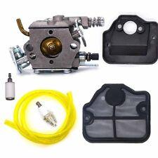 Carburetor Air Fuel Filter Spark plug for Husqvarna 36 41 136 137 141 142 Carb