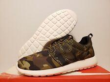 DS Nike Roshe Run Print GREEN CAMOUFLAGE Size 11.5