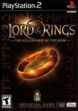 SONY PLAYSTATION 2, LORD OF THE RINGS : FELLOWSHIP RING VIDEO GAME T TEEN PS2 VG