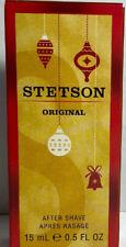 Stetson Original Mens After Shave colonge 0.5 Fl Oz /15 mL each New D3