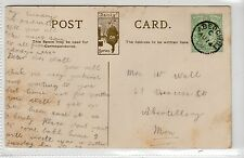 Picture postcard with ABERSWILI (Carmarthanshire) postmark (C9620)