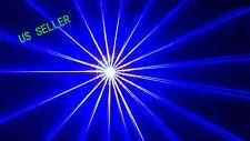 1W Blue Laser Light Animation 3D ILDA DMX SOUND AUTO DJ DISCO PARTY 1000mw Laser