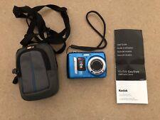 "Kodak ""EasyShare C143"" Compact Digital Blue Camera, 12 MP + Case"