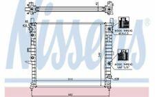 NISSENS Radiateur moteur pour MERCEDES-BENZ CLASSE M 62788A - Mister Auto