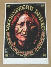 Jeff Wood Widespread Panic Red Rocks Concert Gig Poster 2003 Signed Numbered