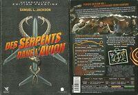 DVD - DES SERPENTS DANS L' AVION avec SAMUEL L JACKSON / COMME NEUF - COLLECTOR