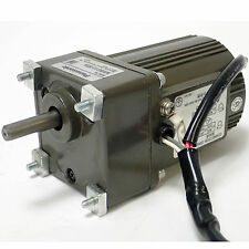 PANASONIC M61X6GV4LGA INDUCTION MOTOR 6W 100V WITH MX6G12.5BA GEAR HEAD 1/12.5