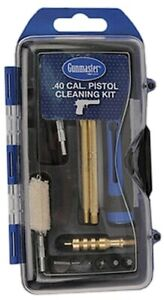 Gunmaster .40 Cal, 10mm 14pc Handgun Pistol Cleaning Kit w/6pc Driver Set