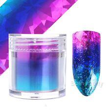 Nagelfolie Nail Art Starry Sky Nagelsticker Nail Foils Tips Pink Blue Maniküre