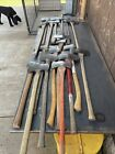 Vintage Kelly Axe Lot of 17 Double Bit and Single Bit