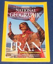 NATIONAL GEOGRAPHIC MAGAZINE JULY 1999 - IRAN/MARS ON EARTH/HORNBILLS/HUMPBACKS