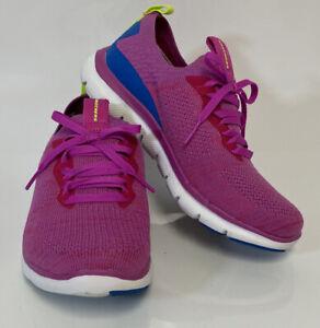 Skechers Women's Flex Appeal 2.0 Turn Stretch Knit Slip-on Sneakers - Pink 9.5 W