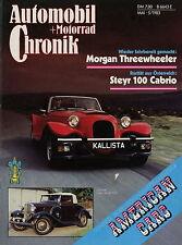 Automobil Motorrad Chronik 5/83 1983 AMC Rambler Nash Ambassador Bergmann IFA BK