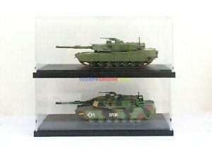 6PCs Storage Display Box For 1/72 Scale Diecast Tank Vehicle WWII Easy Model