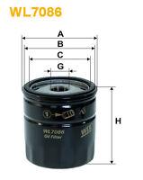 WIX WL7086 Filtro de Aceite Spin-On Recambio W71247 PH5114 AW173