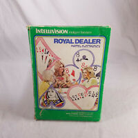 COMPLETE IN BOX Intellivision Royal Dealer GUARANTEED! in plastic sleeve