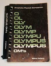 Olympus OM Amphoto Pocket Manual, Milton Heiberg 1980 OM-1N, OM-2N & OM-10