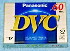 Panasonic DVC 60 minute DV-Mini Tape. New & sealed (H4)