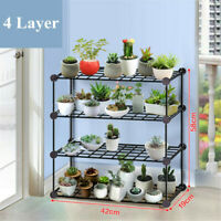 KQ_ HN- Multifunction Plant Flower Pot Stand Shelf Rack Bookshelf Garden In/Outd