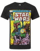 Star Wars Boba Fett Comic Men's T-Shirt
