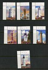 Gambia 2004  #2911A-11G    lighthouses   7v.  MNH  J659