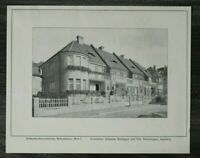 GFA) Blatt Einfamilien Kolonie 1926 Architektur Buchegger Sturzenegger Augsburg