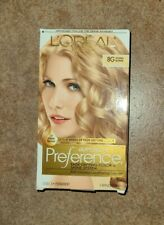 Loreal Paris Superior Preference Permanent Hair Color #8G GOLDEN BLONDE