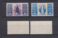 ITALY 1948 Saint Caterina Air Mail Mint *  Sc.C127-C128 (Sa.A146/A147)