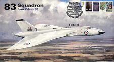 AV600 Avro Vulcan 83 Squadron RAF cover Farewell to Flight XH558 11 Oct 2015