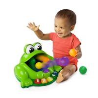 Bright Starts Pop And Giggle Pond Pal Feed The Frog Balls See Them Bounce