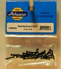NEW HO Athearn 99006 Round Phillips Head Screws 2-56 x 1/2 in 24 Pk