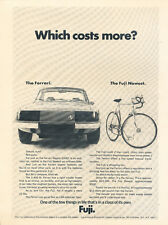 1975 Ferrari Zagato 330GT Fuji Bike - Original Car Advertisement Print Ad J178