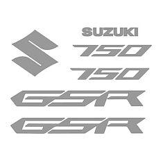 Kit 7 Stickers GSR 750 Suzuki