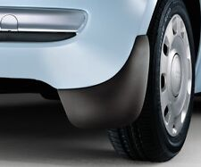 Genuine Fiat 500 Rear Mudflaps Set Mud Shield Guards NEW - 50901694