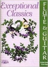 Exceptional Classics Flute Guitar Sheet Music Piano Solo Book S168
