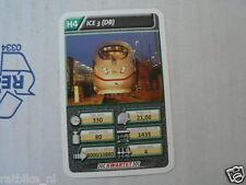 22 SUPER TRAIN H4 ICE 3 DB TREIN KWARTET KAART, QUARTETT CARD