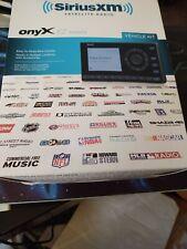 New ListingSirius Xm Satellite Radio Xez1V1 Onyx Ez Radio With Vehicle Dock Car kit Sealed
