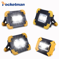80000LM LED Work Light Rechargeabl Ultra Brigh Spotlight Camping Fishing Lamp