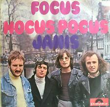 """7"""" 1971 INSTRUMENTAL ROCK RARE MINT-! FOCUS Hocus Pocus"""