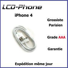 Câble Chargeur iPhone 4 / 4S / iPad / iPad 2 Grade AAA✔ 100% GARANTIE✔ ENVOI 24H