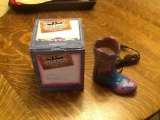 NIB  HTF Retired Scentsy Warmer Boot Stampede Convention 2011 Fort Worth Texas