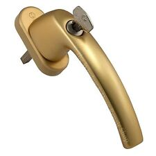 Hoppe Gold Tilt and Turn Window Handle T & T Locking TBT UPVC & Timber Windows