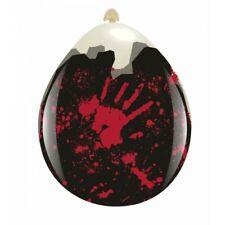 """3 x Cattex 18"""" Weithalsballons BLOODY HANDS * HALLOWEEN (Verpackungsballon)"""