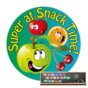 Teacher Reward Sticker 48 PERSONALISED (-ABLE) EYFS Snack Nursery Dinnerlady