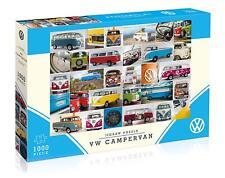VW Volkswagen Campervan 1000 Piece Gibsons Jigsaw