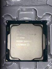 Intel Core I7 7700 SR338 3.60Ghz Processor CPU