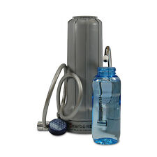 Carbonit SanUNO color gris modelo especial Filtro Agua Potable + 0,5l Botella