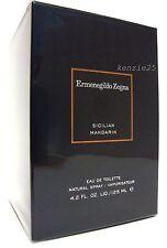 ZEGNA ERMENEGILDO SICILIAN MANDARIN MEN PERFUME EDT 125 ML 4.2 FL OZ SPRAY NIB
