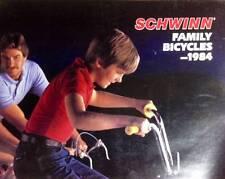 original 1984 Schwinn Bicycle Co.FAMILY CATALOG brochure